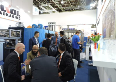 Customers on Interpack Exhibition