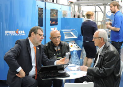 Meeting on the Interpack Exhibiton